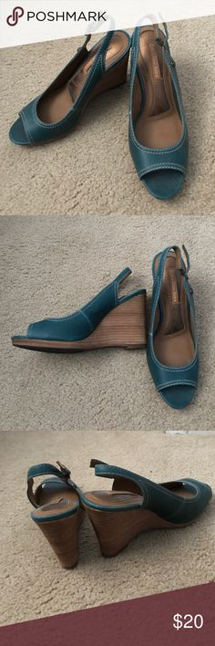 Adorable Calvin Klein wedges! Very comfortable shoes in great condition! Calvin Klein Jeans Shoes Wedges