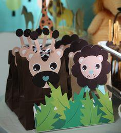 Baby Safari fiesta tema 4 gráficos para por SimplyPerfectNY en Etsy
