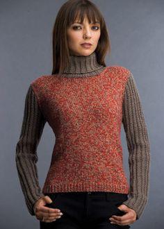 KK186 Aurora Melange Turtleneck Turtleneck, Aurora, Swatch, Knitwear, Knitting Patterns, Pullover, Sweaters, Clothes, Live