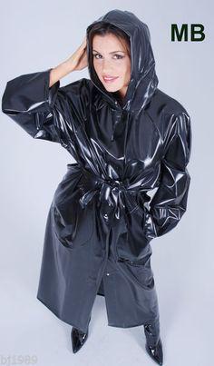 Regenmantel Raincoat Rainwear Impermeable Manteau de pluie PVC -kein Gummi | eBay