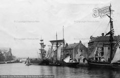 Photo of Weymouth, Ships in the Harbour from The Francis Frith Collection Dorset Travel, Weymouth Harbour, Portland Dorset, Dorset England, Locomotive, Old Photos, Ww2, Travel Ideas, Seaside