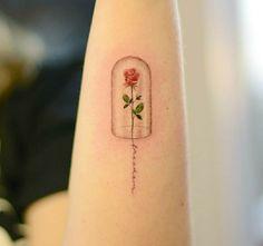 Beauty and the beastBeauty and the beastDie schone und das biest malvorlagenDie schone und das biest malvorlagenRose and mirror tattoo design. Beauty and the Beast tattoo design.Rose and mirror tattoo design. Beauty and the Beast Line Art Tattoos, Mini Tattoos, Body Art Tattoos, Sexy Tattoos, Stomach Tattoos, Tatoos, Disney Tattoos Small, Small Tattoos, Tattoos For Guys