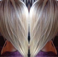 Icy Platinum but Natural Blonde
