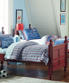 Loving this American League Comforter Set on #zulily! #zulilyfinds
