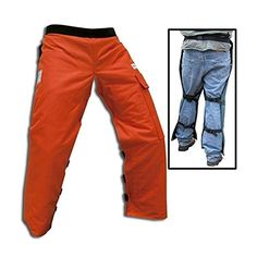 Cold Creek Loggers Chainsaw Apron Safety Chaps with Pocket Orange) Chainsaw Safety Gear, Chainsaw Pants, Chainsaw Chaps, Best Chainsaw, Chainsaw Carvings, Types Of Trousers, Live Stream, Better Half, Parachute Pants