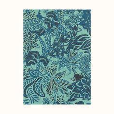 Papier-peint Maîtres de la Forêt Mosaïque | Hermès France