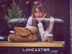 Behati Prinsloo in Lancaster Paris Christmas 2015 campaign Photoshoot