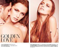 Uma pele ligeiramente beijada pelo sol, em perfeita simbiose  com uma hidratação exemplar, é sempre sinónimo de sensualidade.  Nos lábios a cor natural, almost nude, suaviza a expressão mais austera,  ao mesmo tempo que se torna no último detalhe para a atração imediata. Vê o editorial de beleza completo em http://nstylemag.com/golden-love/