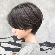 Pin on ヘアー Japanese Short Hair, Asian Short Hair, Asian Hair, Girl Short Hair, Short Hair Cuts, Japanese Hair Color, Popular Short Haircuts, Short Bob Haircuts, Short Hairstyles For Women