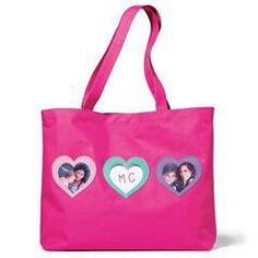 Pink Photo Hearts Tote bag this is a pretty pink tote bag to display your pictures of whatever.