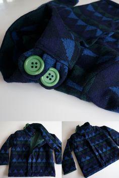 Winterjas: patroon Heidi & Finn Urban Weekender Coat