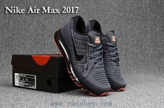 New Nike Air Max 2017 Carbon Grey Mens Shoes