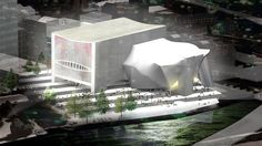 Image copyright OMA  Image caption  The planned Factory arts centre in Manchester will get funding  Arts Council England is to take money out of London to boost cultural organisations in the regions.   #Entertainment;Art