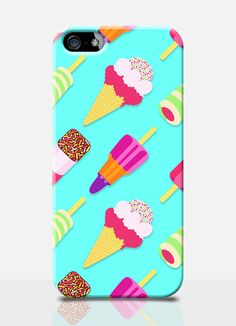 ICE CREAM, lolly, fab summer Print mobile phone case. Available on: iPhone, iPhone 5, Samsung s3, Samaung s4. By TheSmallPrintCases, £10.99