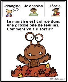 Teaching French, French Teaching Resources, French Teacher, French Lessons, Spanish Lessons, Spanish Language Learning, Speech And Language, Kindergarten Literacy, Literacy Activities