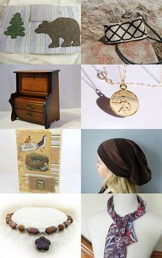 Beautiful Browns in FEO Shops by Susan Harris on Etsy--Pinned with TreasuryPin.com