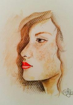 Retrato sepia