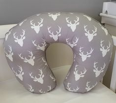 If you've got a woodland theme nursery, our Woodland Pals in grey and mint is perfect for any little boys!