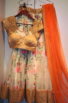 Half saree More