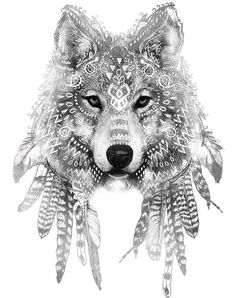 [ 45 idées de tatouage de loup 45 tattoo ideas of wolf tattoo ideas Hawaiianisches Tattoo, Tattoo Drawings, Body Art Tattoos, New Tattoos, Tatoos, Tattoo Wolf, Mehndi Tattoo, Skull Tattoos, Sleeve Tattoos