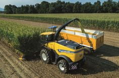 New Holland FR-Häcksler