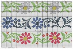 This Pin was discovered by Şer Cross Stitch Bookmarks, Cross Stitch Rose, Cross Stitch Borders, Cross Stitch Flowers, Cross Stitch Charts, Cross Stitch Designs, Cross Stitching, Cross Stitch Embroidery, Cross Stitch Patterns