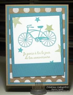 Cycle Celebration by Habsgirl22 - Cards and Paper Crafts at Splitcoaststampers