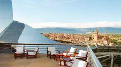 Hotel Marqués de Riscal Elciego: Terraza en la Azotea