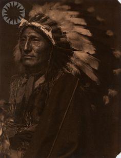 Sioux chief, 1898, Gertrude Kasebier