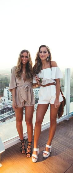 Coming out of your homy payjamas to wear something other is worst during the summer, but when it's about wearing rompers which is as cool as payjamas, then it's really amazing | CUTE SUMMER OUTFITS | 42 Cute Summer Outfits to Copy ASAP | Fenzyme.com