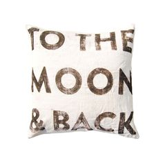 Love You To The Moon Pillow | dotandbo.com