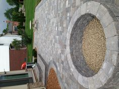@Leslie Riemen Foutch. You should put a patio in your backyard around the fire pit.