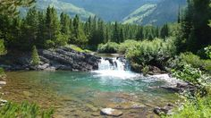 Swiftcurrent Pass, Glacier National Park jigsaw puzzle in Waterfalls puzzles on TheJigsawPuzzles.com
