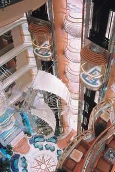 The centrum on Royal Caribbean's Radiance of the Seas