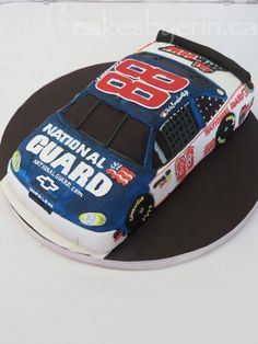 Groom's Cake: Dale Earnhardt Jr. - Cakes by Erin