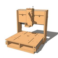 Homemade Router 3D, do it yourself three axis tool, versatile and cheap, you can…