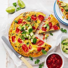 Collect this Mexican Pan Frittata recipe by Australian Eggs. MYFOODBOOK.COM.AU | MAKE FREE COOKBOOKS