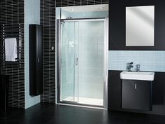 The ingenious Embrace Three Panel Sliding Door exudes style, with the smooth sliding door action and extravagant door opening.