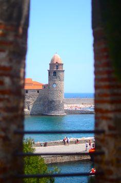 Collioure, petit port magnifique des Pyrénées Orientales, Côte Vermeille.Les Fauvismes l'ont souvent peint.C'est le Honfleur de la région
