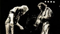 Zucchero performing with Miles Davis