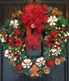 Check out this item in my Etsy shop https://www.etsy.com/listing/453843210/gingerbread-wreath-gingerbread-decor