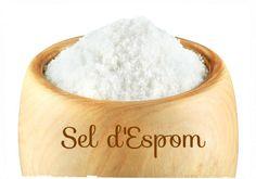 Le sel d'Espom est un sel amer, riche en magnésium, dont les usages peuvent être très variés: retrouvez 19 astuces d'utilisation du sel d'Epsom! Epsom, Fitness Magazine, Diy Cleaning Products, Natural Medicine, Natural Health, Natural Remedies, Women Wear, Lily, Medical
