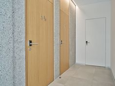 Town Hall, Herzogenburg (AUT) Photographer: ©Jung Produktion Elegant escape routes Smart access solutions from dormakaba meet the requirements for security, functionality, accessibility and energy efficiency: all office doors and the doors to the conference room are equipped with the shapely, electronic c-lever compact fittings. #architecture #design #building #ArchitectureDesign #Smartandsecureaccesssolutions #TrustedAccess #dormakaba #problem solutions #creative solutions #c-lever