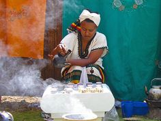 ethiopian coffee ceremony, really awesome experience Ethiopian Coffee Ceremony, Cherry Farm, Chinese Five Spice Powder, Real Coffee, African Countries, Tea Cakes, North Africa, Vacation Spots, Image