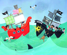 Pirate Battle - Sharon Harmer