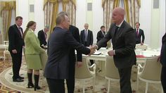 Putin Meets with German Business Community Representatives
