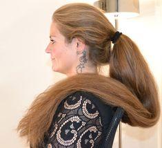 Long Ponytail Hairstyles, Long Hair Ponytail, Long Ponytails, Braids For Long Hair, Twin Braids, Really Long Hair, Long Red Hair, Big Hair, Thick Hair