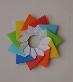 Origami Stella Della Mamma, Mother's Star, Video Tutorial
