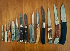 You'll never wish you had a pocket knife; until you need one. For centuries, the pocket knife has been mans (inanimate) best friend.