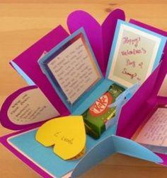 DIY Suprise exploding box from paper // Robbanó meglepetés - ajándék papírból egyszerűen // Mindy - craft tutorial collection